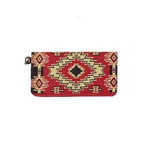 """Picture of Ladies Wallet Red River 4""""x7.5"""""""