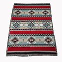 """Picture of Throw Blanket Rimrock Red 53x70"""""""