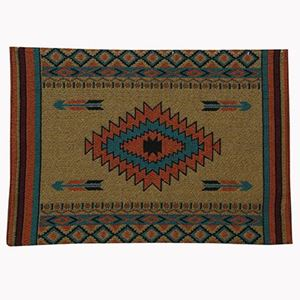 """Picture of Placemat Diamond Arrow 13""""x19"""""""