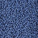 Picture of Size 11 Japanese Seed Beads, Semi-Glazed Soft Blue Seed Bead ~ (#2606F), Approximately 25 Grams