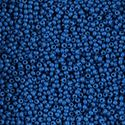 Picture of Opaque Medium Blue Seed Bead #10<br />  Approximately 25 ~        Grams