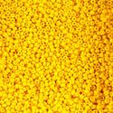 Picture of Opaque Lemon Yellow Seed Bead #10<br />  Approximately 25 ~        Grams