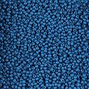 Picture of Opaque Dark Blue Seed Bead Size 11<br />Approximately 25 ~        Grams