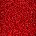 Picture of Opaque Medium Red Seed Bead Size 11<br />Approximately 25 ~        Grams