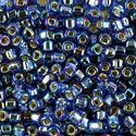Picture of Silverlined Sapphire Aurora Borealis Seed Beads #642 / Size 6<br ~        />Approximately 25 Grams