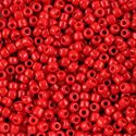 Picture of Opaque Red Seed Bead #408 / Size 8<br />Approximately 25 ~        Grams