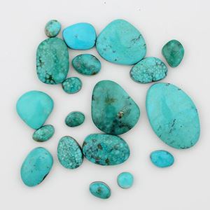 Picture of Blue Mexican Stabilized Turquoise Cabochon