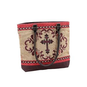 "Picture of Shoulder Bag WesternCrss 17""x14"""