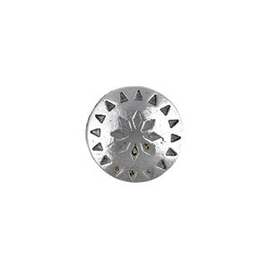 Picture of Base Metal, 18mm, Native Star Concho Button. 10 Buttons
