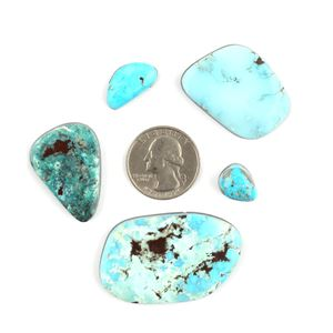 Picture of 1980's Natural Morenci Cabochon