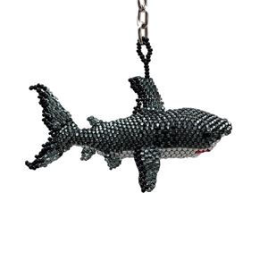 Picture of Beaded Keychain Shark