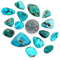 Picture of Kingman Turquoise Cabochon