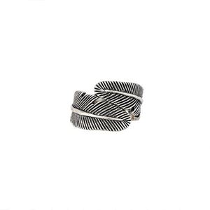 Picture of Sterling Silver Feather Ring, Size 7