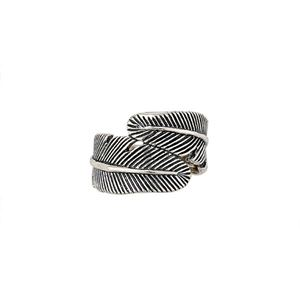 Picture of Sterling Silver Feather Ring, Size 9
