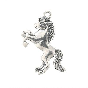 Picture of Sterling Silver Standing Horse Charm, 14x27mm