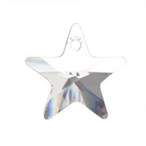Picture of Swarovski Crystal Star Pendants, 16mm, sold by the pair