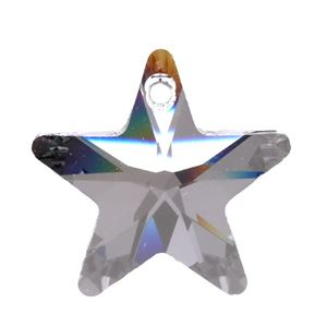 Picture of Swarovski Crystal Star Pendants, 20mm, sold by the pair