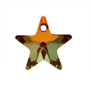 Picture of Swarovski Copper Star Pendants, 16mm, sold by the pair