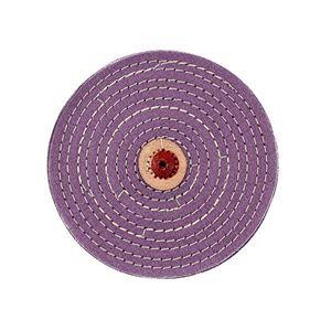 "Picture of Purple Razoredge Buffing Wheel, 6"" Diameter"