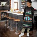 Picture of Cabin Fever Turquoise Arrow Apron