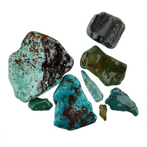 Picture of Chinese Blue Turquoise Rough