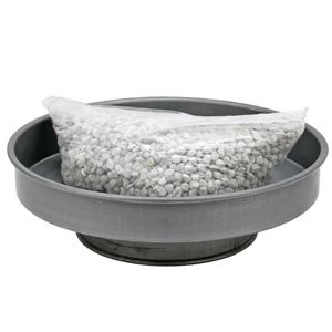 """Picture of Annealing 12"""" Pan with 2.5 lbs of Pumice"""