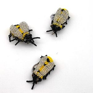 Picture of Beaded Bee Key Chain