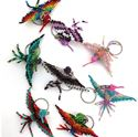 Picture of Beaded Small Hummingbird Key Chain