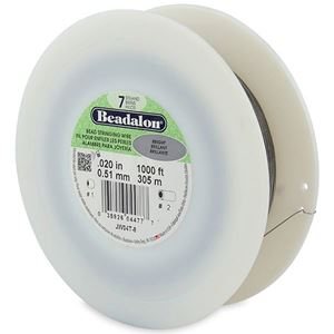 Picture of Beadalon ~        Wire 7 Strand .02 Inch 1000 Feet