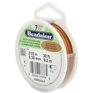 Picture of Beadalon Copper Wire 7 Strand .015 Inch 30 Feet