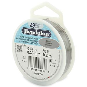 Picture of Beadalon Wire 49 Strand .013 Inch 30 Feet