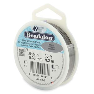 Picture of Beadalon Wire 49 Strand .015 Inch  30 Feet