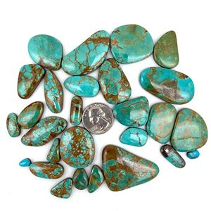 Picture of Natural Freeform Royston Turquoise Cabochons