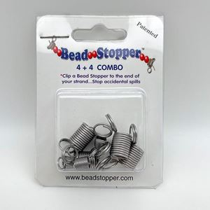 Picture of Bead Stoppers, 4 Original and 4 Mini Combo